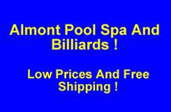 Almont Pool Spa And Billiards