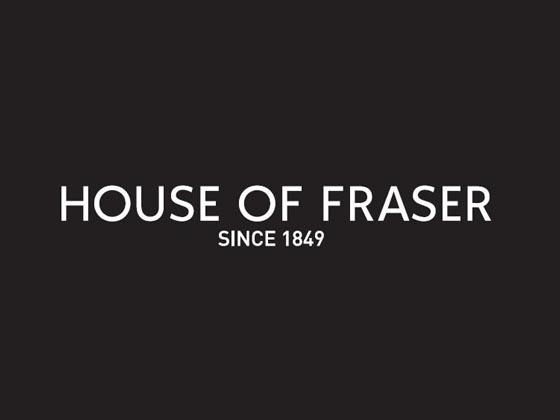 House of Fraser voucher codes